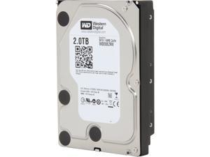 "WD WD Green WD20EZRX 2TB IntelliPower 64MB Cache SATA 6.0Gb/s 3.5"" Internal Hard Drive -Manufacture Recertified Bare Drive"