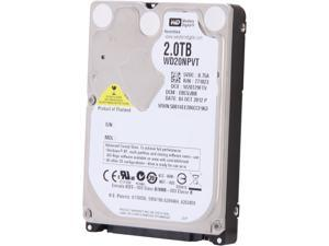 "Western Digital Green WD20NPVT 2TB IntelliPower 8MB Cache SATA 3.0Gb/s 2.5"" Internal Notebook Hard Drive Bare Drive"
