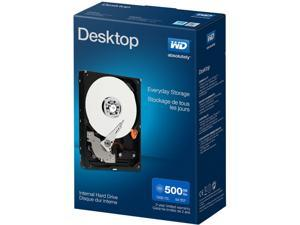 "WD Desktop Mainstream WDBH2D5000ENC-NRSN 500GB 7200 RPM 32MB Cache SATA 6.0Gb/s 3.5""  Internal Hard Drive Retail"