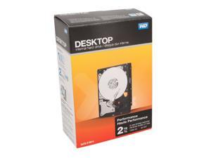 "WD Performance WDBSLA0020HNC-NRSN 2TB 7200 RPM 64MB Cache SATA 3.5"" Internal Hard Drive Retail Kit"