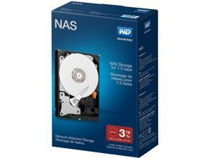 "WD Desktop Networking WDBMMA0030HNC-NRSN 3TB 5400 RPM 64MB Cache SATA 6.0Gb/s 3.5"" Network NAS Hard Drive Retail Kit"