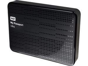 WD 2TB My Passport Ultra Portable Hard Drive USB 3.0 Model WDBMWV0020BBK-NESN Black
