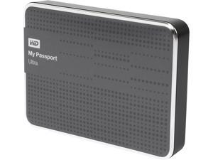 WD 2TB My Passport Ultra Portable Hard Drive USB 3.0 Model WDBMWV0020BTT-NESN Titanium
