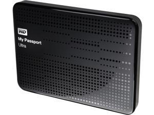WD 500GB My Passport Ultra Portable Hard Drive USB 3.0 Model WDBPGC5000ABK-NESN Black
