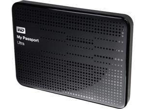 WD 1TB My Passport Ultra Portable Hard Drive USB 3.0 Model WDBZFP0010BBK-NESN Black