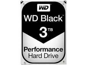 WD Black 3TB Performance Desktop Hard Disk Drive - 7200 RPM SATA 6Gb/s 64MB Cache 3.5 Inch - WD3003FZEX