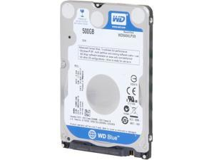 "WD Blue WD5000LPVX 500GB 5400 RPM 8MB Cache SATA 6.0Gb/s 2.5"" Internal Notebook Hard Drive Bare Drive-Factory Recertified"