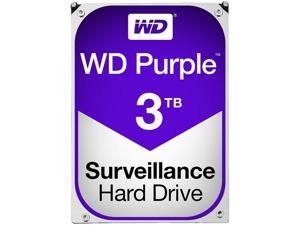 WD Purple 3TB Surveillance Hard Disk Drive - 5400 RPM Class SATA 6Gb/s 64MB Cache 3.5 Inch - WD30PURX