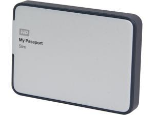 WD 2TB My Passport Slim Portable Storage USB 3.0 / USB 2.0 Model WDBPDZ0020BAL-NESN