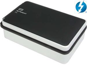 WD 4TB My Passport Pro Portable External Hard Drive - Thunderbolt - WDBRNB0040DBK-NESN