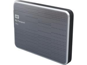 WD 1TB My Passport Ultra External Hard Drive Titanium USB 3.0 Model WDBJNZ0010BTT