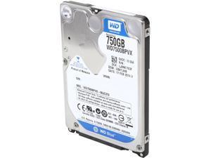 """WD Blue  WD7500BPVX  750GB  5400 RPM  8MB  Cache SATA 6.0Gb/s  2.5""""  Internal Notebook Hard DriveBare Drive"""