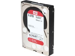 "WD  Red  WD60EFRX  6TB  IntelliPower  64MB  Cache SATA 6.0Gb/s  3.5""  NAS Hard Drive"