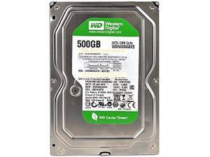 """Western Digital AV-GP WD5000AVVS 500GB 8MB Cache SATA 3.0Gb/s 3.5"""" Internal Hard Drive Bare Drive"""