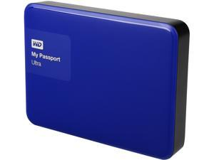 WD 2TB Blue My Passport Ultra Portable External Hard Drive - USB 3.0 - WDBBKD0020BBL-NESN