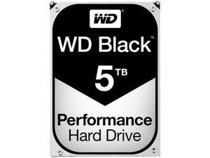 WD Black 5TB Performance Desktop Hard Disk Drive - 7200 RPM SATA 6Gb/s 128MB Cache 3.5 Inch - WD5001FZWX