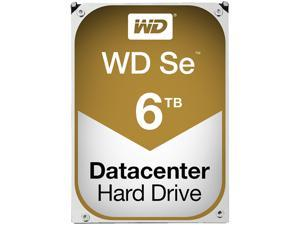 "WD Se WD6001F9YZ 6TB 7200 RPM 128MB Cache SATA 6.0Gb/s 3.5"" Datacenter Capacity HDD"