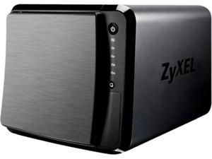 ZyXEL NAS540-EU0101F Diskless System 4 Bay Power NAS Diskless 1.2GHZ Dual Core CPU with 1GB RAM