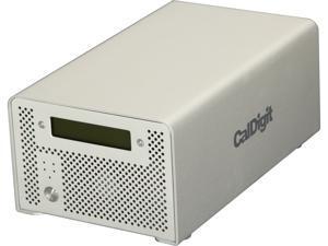 CalDigit VR2 6TB 1 x USB 3.0 / 2 x Firewire 800 / 1 x Firewire 400 / 1 x eSATA External Hard Drive Silver