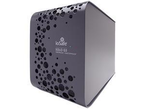 """ioSafe SOLO G3 4TB USB 3.0 3.5"""" External Hard Drive SK4TB Black"""