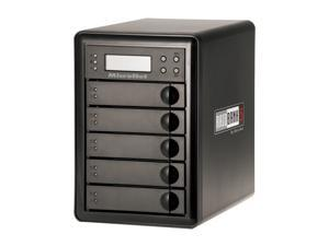 Fantom Drives by Micronet RAIDBank5 15TB USB 3.0 / Firewire400 / Firewire800 / eSATA Tower 5-Bay RAID Array w/ Quad Interface ...