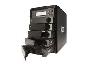Fantom Drives by Micronet RAIDBank5 5TB Tower Black 5-Bay RAID Array w/ Quad Interface
