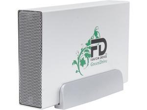 "Fantom Drives GreenDrive3 4TB USB 3.0 3.5"" External Hard Drive"