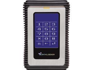 DataLocker DL3 500GB USB 3.0 AES Encrypted Portable External Hard Drive DL500V3