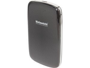 "Matsunichi 1TB USB 3.0 2.5"" Portable External Hard Drive DM256-BK-1TB"
