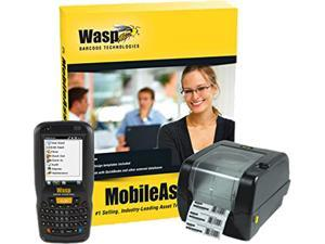 Wasp Barcode MobileAsset Asset Tracking Pro Edition with DT60 (QWERTY) & WPL305 - 5-Users