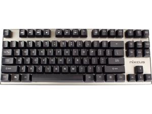 Nixeus MK-BL15 MODA v2 Mechanical Keyboard - Blue Switch (Clicky Tactile)