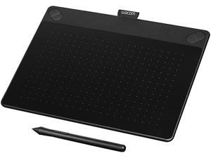 "Wacom Intuos Art CTH690AK 8.5"" x 5.3"" Active Area Pressure-sensitive, cordless, battery-free Intuos Art Pen & Touch Tablet - Bk"