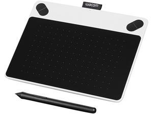 "Wacom Intuos Draw (CTL490DW) 6.00"" x 3.70"" (152 x 95mm) Active Area USB Creative Pen Tablet - White"