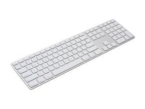 Apple MB110LL/A White USB Wired Slim Keyboard with Numeric Keypad