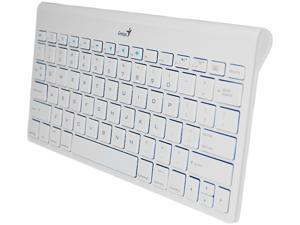 Genius LuxePad 9000 31320006101 White Bluetooth Wireless Mini Keyboard
