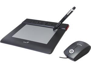 "Genius EasyPen M406 (31100020101) 4"" x 6"" Active Area USB Multimedia Tablet with Cordless Pen"
