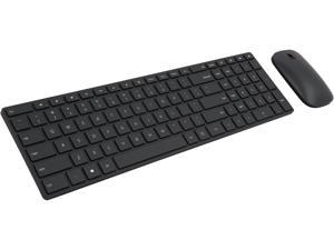 Microsoft Designer Bluetooth Desktop 7N9-00001 Black Bluetooth Wireless Slim Keyboard & Mouse