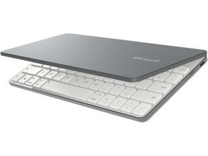 Microsoft P2Z-00034 Gray Bluetooth Bluetooth Wireless Keyboard