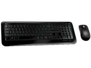 Microsoft Desktop 850 PY9-00001 Black RF Wireless Standard Keyboard & Mouse