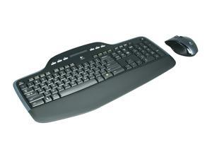 Logitech MK710 2.4GHz Wireless Keyboard and Mouse Combo - Black