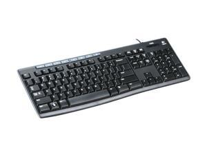 Logitech K200 Black USB Wired Standard Keyboard for Business