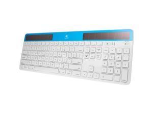 Logitech Solar Keyboard K750 for Mac 920-003473 White / Blue RF Wireless Keyboard
