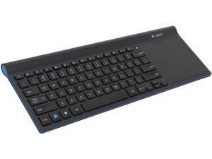 Logitech Wireless All-in-One Keyboard TK820 920-005108 USB RF Wireless Slim Keyboard with Built-in Touch Pad