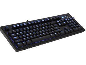 CM Storm QuickFire Ultimate - Full Size Mechanical Gaming Keyboard with CHERRY MX Blue Switches and Fully Blue LED Backlit