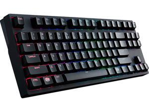 MasterKeys Pro S with Intelligent RGB and CHERRY MX Brown Switches by Cooler Master