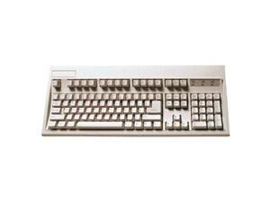 KeyTronic E03601D1 Beige 5-pin DIN/AT-style Standard Keyboard