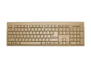 KeyTronic KT400P1 Beige PS/2 Keyboard