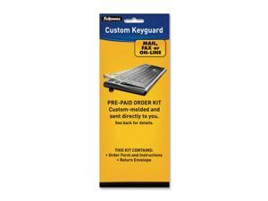 Fellowes 99680 Antimicrobial Custom Keyguard Cover Kit