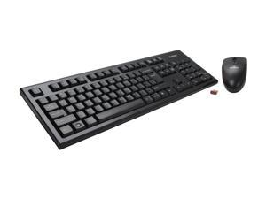 A4Tech 3100N Black USB RF Wireless Standard Keyboard & Mouse