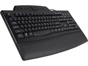 Kensington K72402US Black USB Wired Ergonomic Pro Fit Comfort Keyboard
